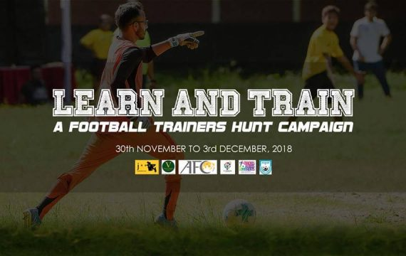 Learn and Train: A Football Trainers Hunt Campaign