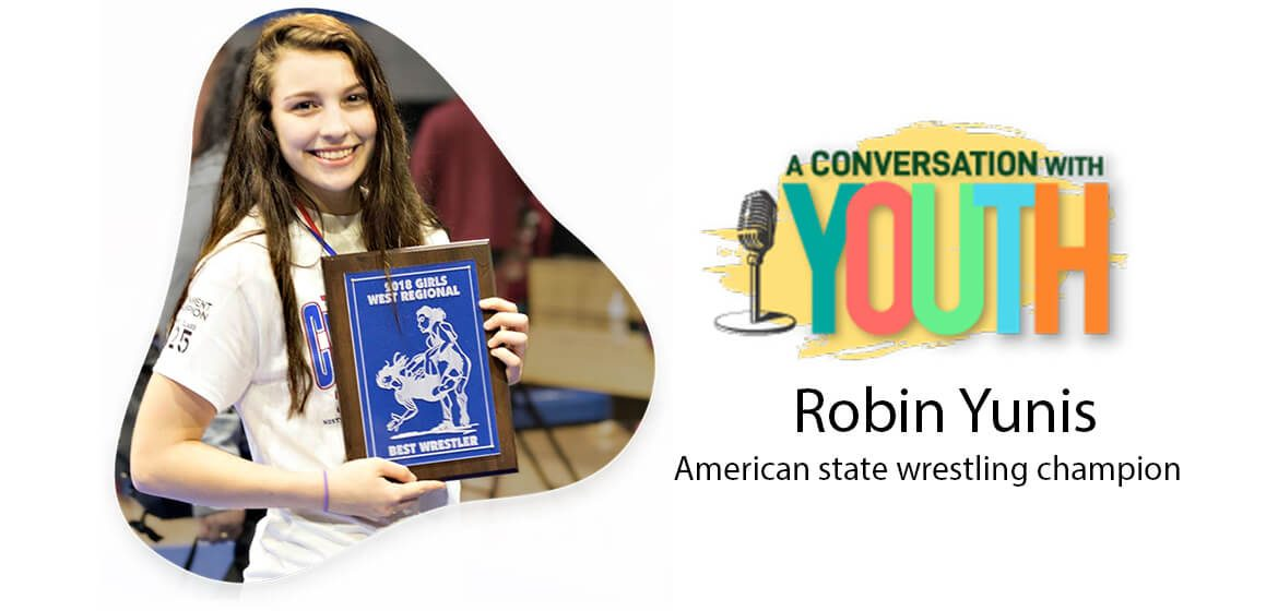 A Conversation with Youth | Robin Yunis - A person posing for the camera - Brand